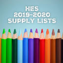 HES 2019-2020 School Supply Lists