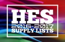 Hoover Elementary 2016-17 School Supply List