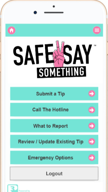 three ways to submit an anonymous tip
