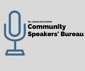 MTLSD Community Speakers' Bureau logo
