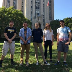 Students at Pitt for STEM