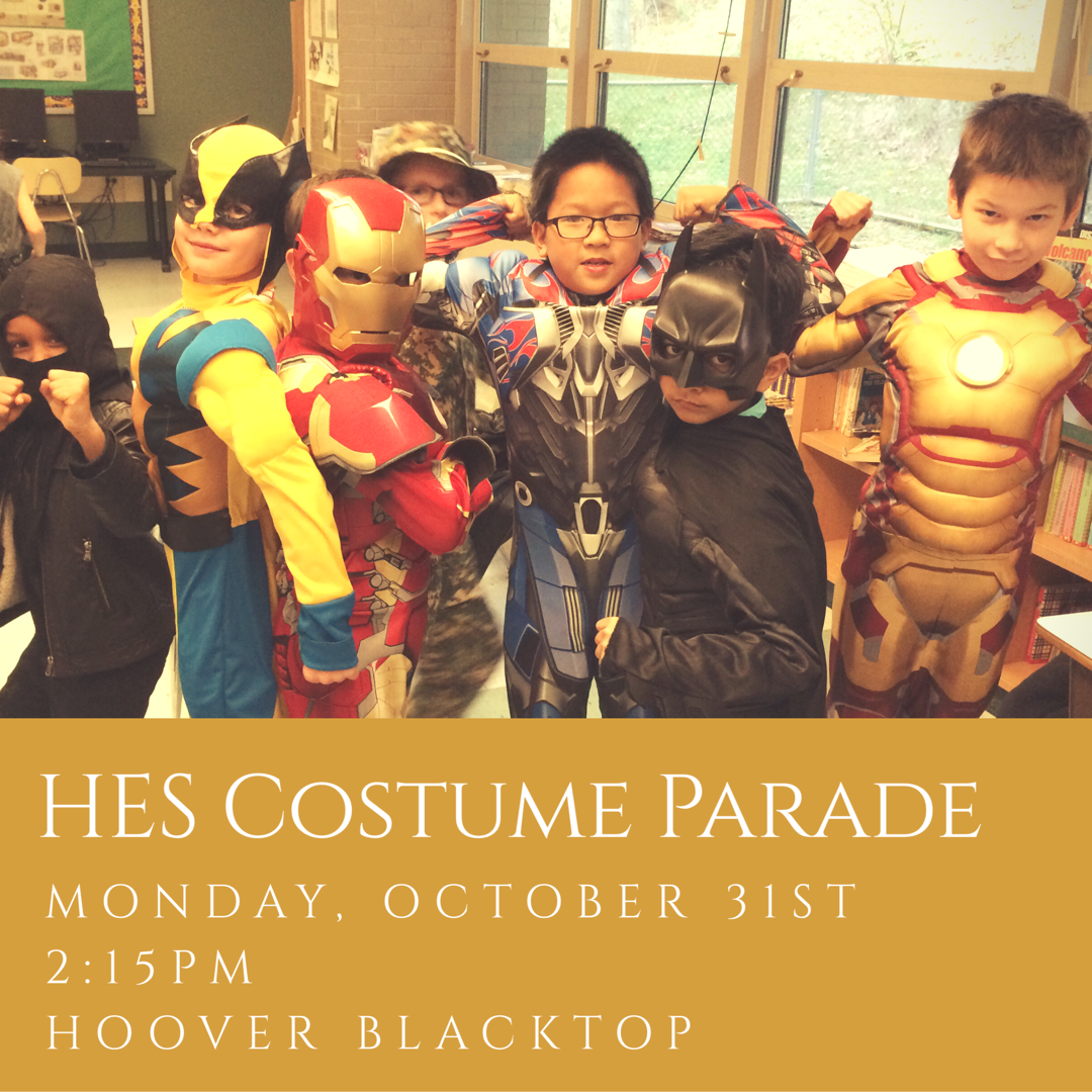 HES costume parade/party flyer