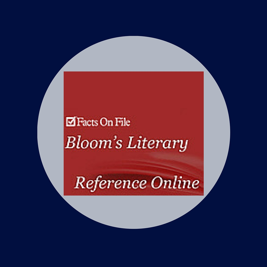 Bloom's provides author information, plot synopses, and literary criticism
