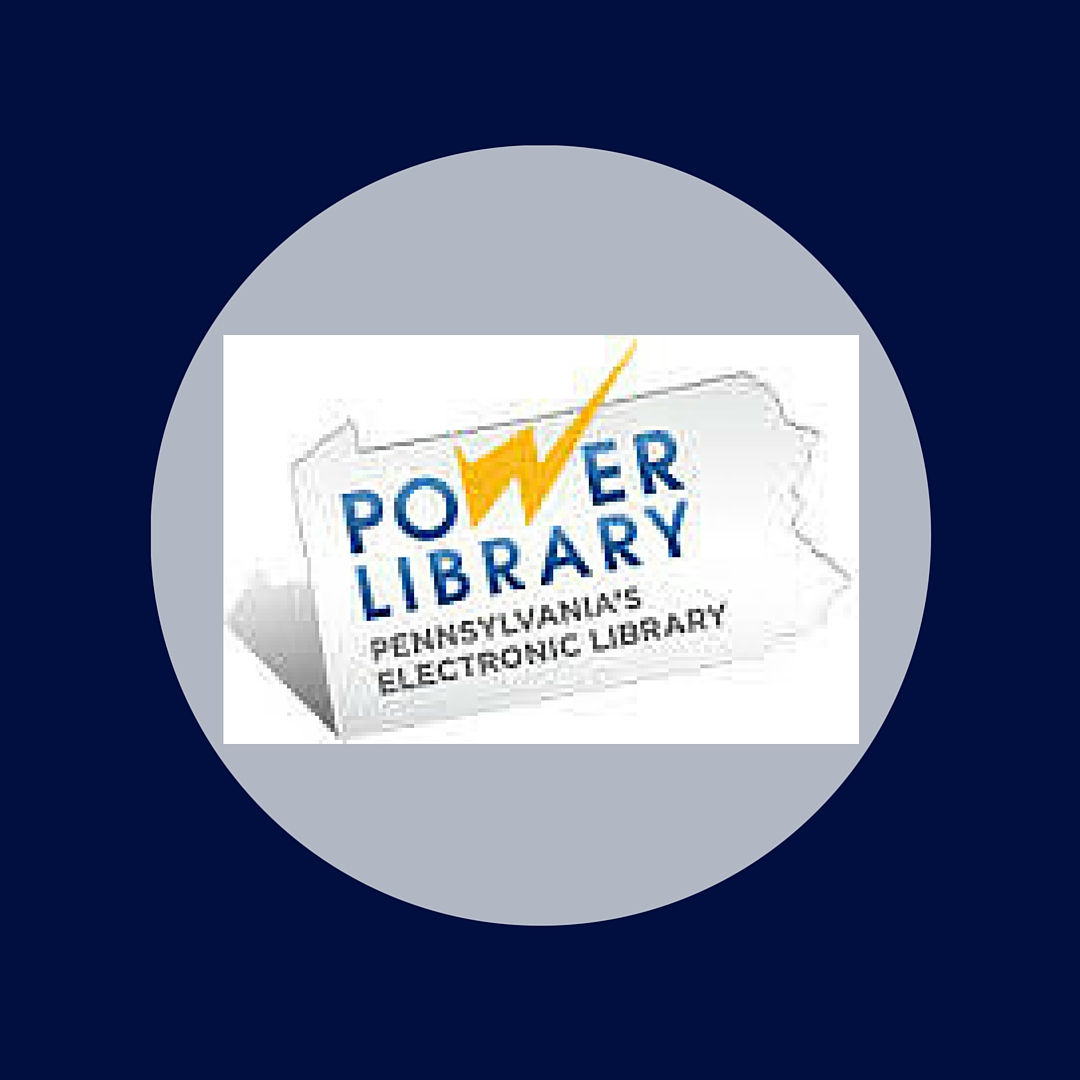 Power Library is funded by the PA Commonwealth Library System and provides access to a multitude of additional databases for your use