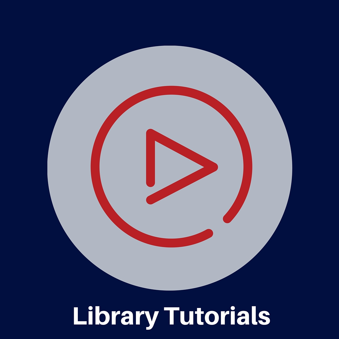 Watch videos about how to use some of our library's resources