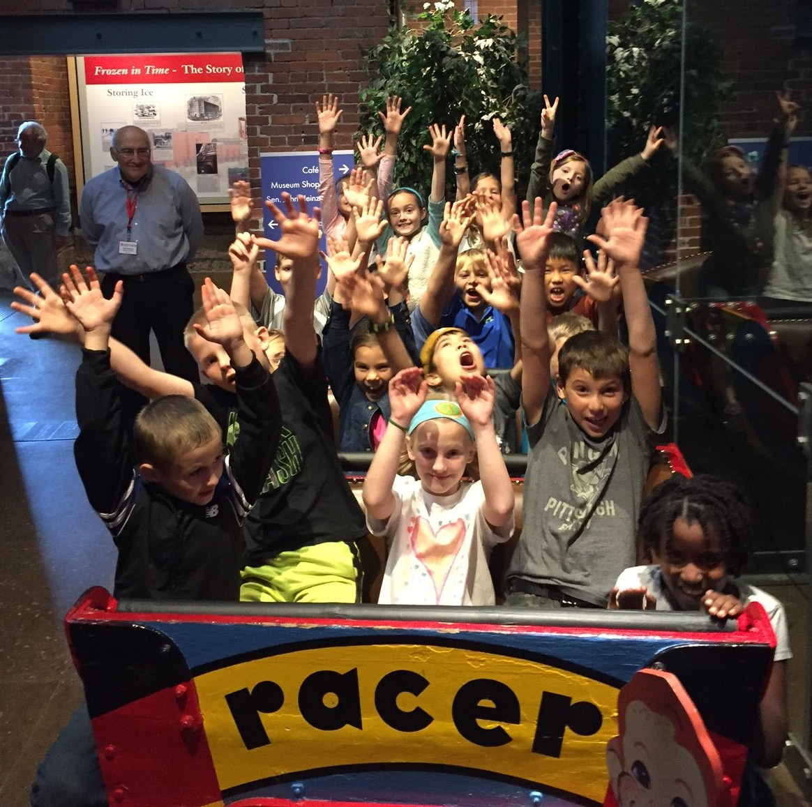 "Students in the ""Racer"""